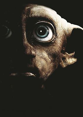 Dobby Harry Potter Print Art Poster Picture A3 Size Gz1524