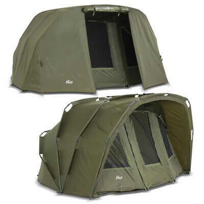 Bivvy + Cover 2 - 3 Man Carp Tent Carp Dome + Winterskin Tiger Angel Tent