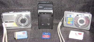 Lot of 2 Digital Cameras-Kodak EasyShare & Sony Cyber-Shot