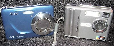 Lot of 2 Kodak Digital Cameras-EasyShare C180 & C530