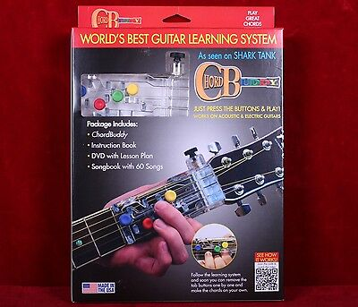 New Chord Buddy Guitar Learning System Teaching Practrice Aid