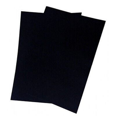 A4 Black Paper or A4 Black Card for Drawing and Craft Work