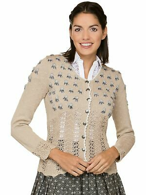 Stockerpoint Traditional Cardigan Gianina Natural