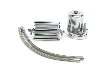 Feuling - 2002 - Oil Filter Cooler, Chrome