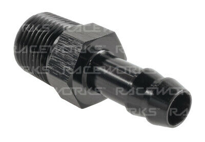 "Raceworks Male Npt 3/8"" To 3/8"" (An-6) Barb"
