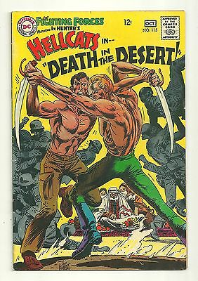 Our Fighting Forces (1954) #115 1st Printing DC War Comics Joe Kubert Very Good!