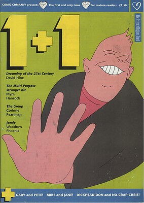 1+1 Magazine Size B&W Comic Published by the Terrence Higgins Trust in 1991