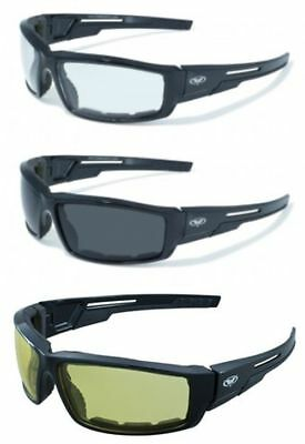 Motorcycle Glasses Sunglasses Padded Riding Global Vision Sly Moped ATV Cycling