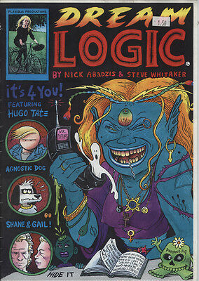 Dream Logic Magazine Size B&W Comic From the early 1990s