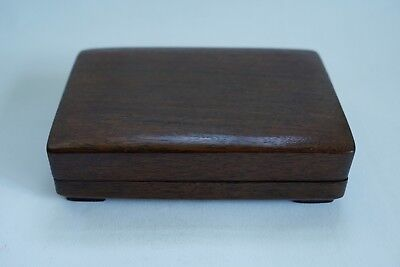 Antique Chinese Ink Stone with Hard Wood Box