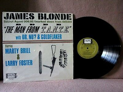 """Marty Brill & Larry Foster """" JAMES BLONDE """":    Colpix # CPL-495 ~ 1965:    EX!!"""