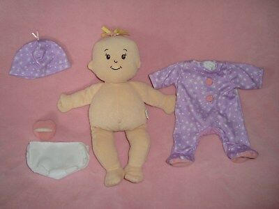 "Manhattan Baby 14"" Plush doll with outfit & Soother"