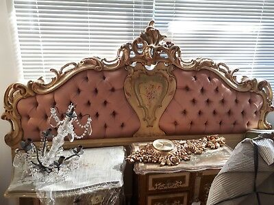 ~ Beautiful Romantic Bed Head / Headboard only ~ Shabby Chic ~ Romantic