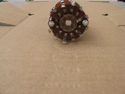 7 position 10 pole rotary switch USED