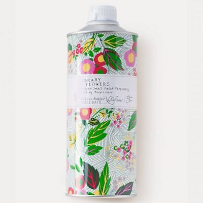 Library of Flowers Wildflower and Fern Bubble Bath 32 oz - DENTED BOTTLE