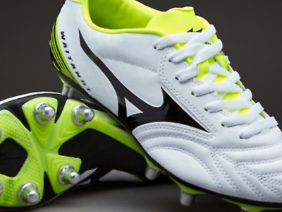 New Mens Mizuno Waitangi Ps Rugby Boots Size 8 Rrp 85.00