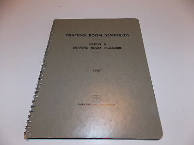 1957 Bethlehem Steel - Fabricated Steel Construction Drafting Room Standards