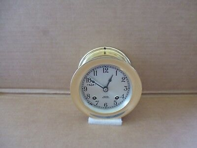 "VINTAGE CHELSEA 3.3/4"" SHIPS BELL CLOCK Ca.1964 MATCHING NUMBERS, SERVICED"