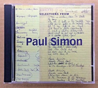 Paul Simon - Like New CD - Promo Only Sampler - f/ The Studio Recordings Box Set
