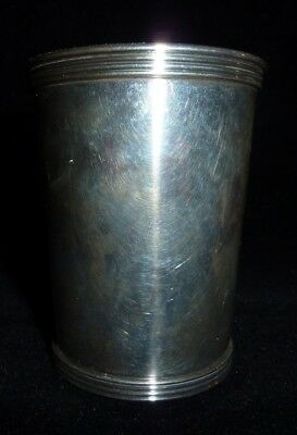 STERLING SILVER MINT JULEP CUP Kentucky Derby International Sterling P699