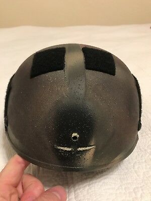Gentex ACH Modified High Cut Ballistic Helmet Medium h-nape pads gunfighter