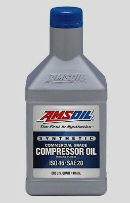 Amsoil Synthetic Compressor Oil - ISO 46, SAE 20  1Qt.