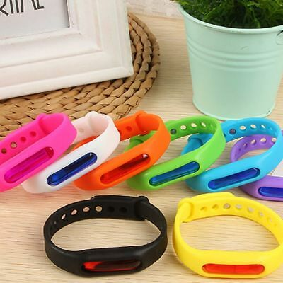 Adult Plant Anti Silicone Children Insect Mosquito Repeller Repellent Bracelet