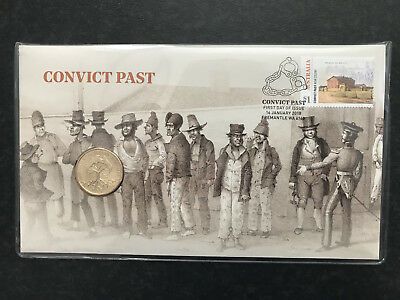New Mint Uncirculated Convict Past 2018 $1 Coin PNC Limited to 7,500