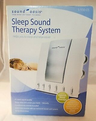 Sound Oasis S 550 05 Sound Therapy System New