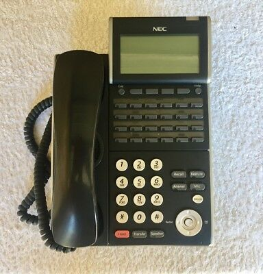 10 x NEC DT300 DTL-24-1A Telephone Handset *Very Good Condition*