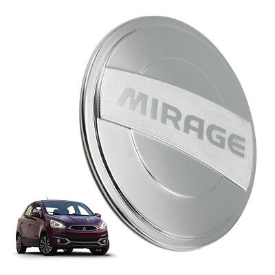 Fuel Cap Tank Cover Chrome V2 For Mitsubishi Mirage Space Star 2012 2014 15 17