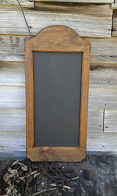 Timber Frame Curved Top Chalkboard Menu Board Messages Specials Prices Home Shop