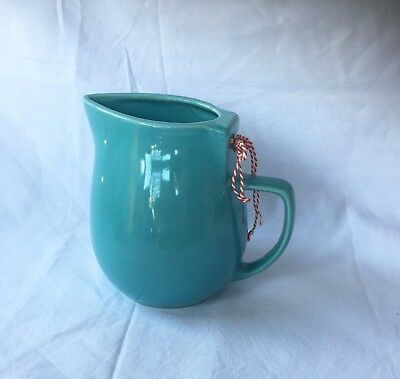 Vintage Little Blue Jug Former Electric Kettle Shabby French Country Style