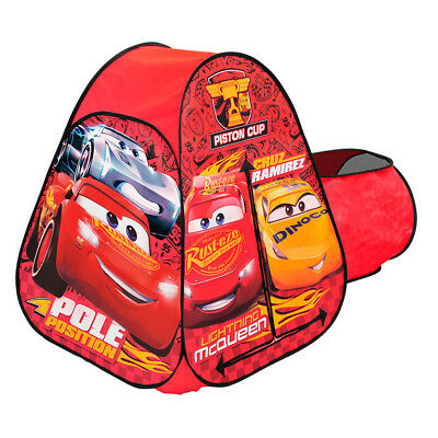 Cars 3 Hideaway Tent With Tunnel