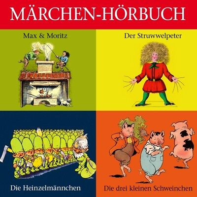 Märchen-Hörbuch - Der Struwwelpeter,Max and Moritz u.v.m. CD ZYX Music NEW