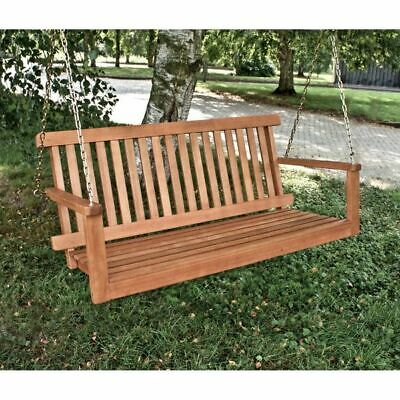 h ngebank holz h ngeschaukel garten bank baumbank. Black Bedroom Furniture Sets. Home Design Ideas