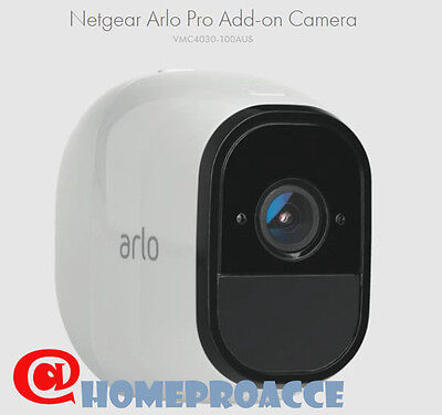 Arlo Pro Netgear VMC4030  - Add-on Wire-Free HD Home Security Camera
