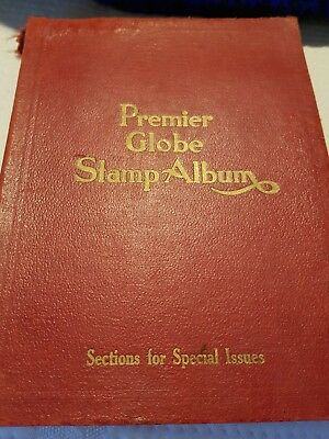 Premier globe stamp album 6th edition
