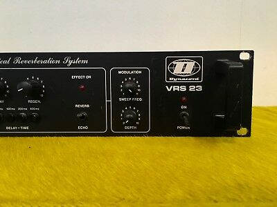 Vintage DYNACORD VRS 23 Vertical Reverberation System Delay Reverb! Analog Cult!