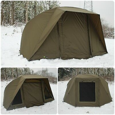 Quest Brolly System Carp Fishing Bivvy 1-2 Man Overnight Shelter Tackle Pop Up