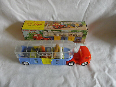 Circus Animal Car With Animals - Friction Drive - Hong Kong - Unbespielt In Ovp