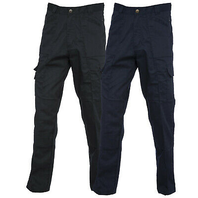 New Mens Womens Action Trouser With Zipped Knee Pad Pockets Work Safety Pant LOT