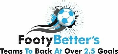 FootyBetter's Over 2.5 Goals Football Betting Tips   - 1 Year Membership