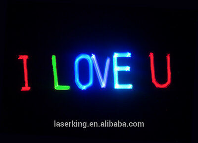 Ultimate All In 1 Laser- Text + Animation + Rave + Red Green Blue Disco Light Dj