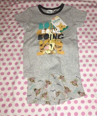 Disney Baby Pjs Tigger Size 18-24 Months (2) New With Tags