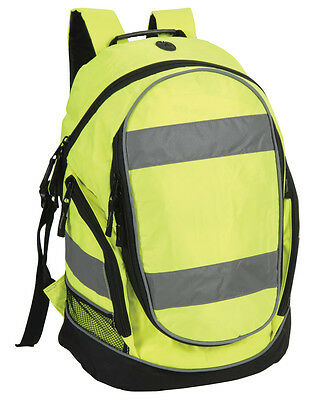 1x Hi-Vis Yellow Rucksack/Work Bag Ideal for Paramedic First Responder Ambulance