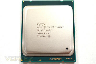 Intel® Core™ i7-4960X Processor Extreme Edition 15M Cache, up to 4.00 GHz