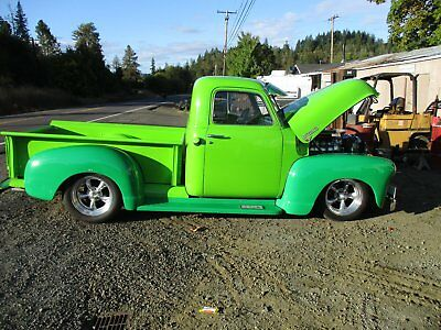 1950 Chevrolet Other Pickups  1950 chevy custom pickup with a 671 blower show truck