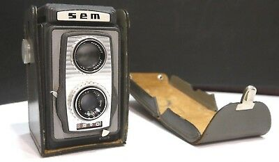 Camera Sem Semflex Joie To Live 1959 Som Bell 75 Mm F: 4,5 A518