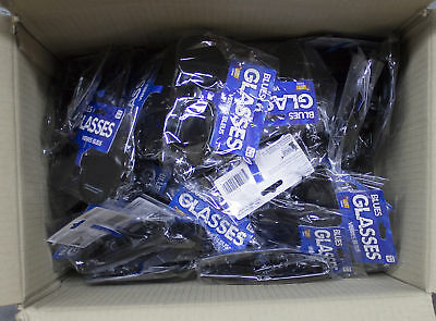 CLEARANCE! Lot of 63 Blues Glasses (Costume use, no UV)